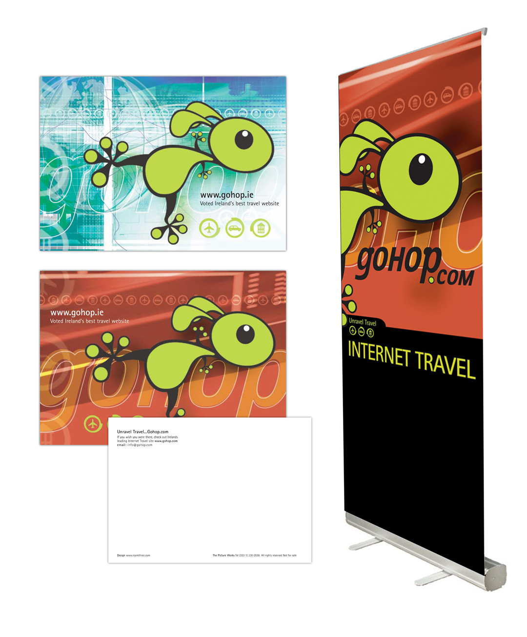 gohop_postcards_and_banner